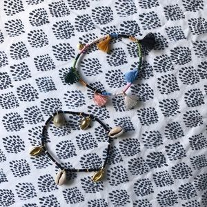 Madwell Strechy Beaded Summer Braclets, 2